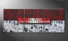 Arte moderna 'Clear Thought' 180x70cm