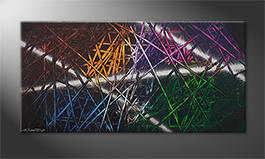 Arte moderna 'Light Reflection' 120x60cm
