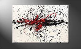 Arte moderna 'Light Smash' 120x80cm