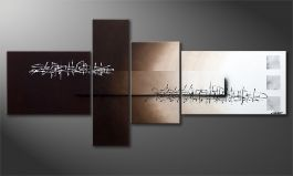'Between Night & Day' 220x100cm quadro XXL