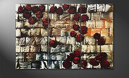 'Colored Roses' 120x60cm quadro