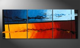 'Hot and Cold' 150x60cm quadro