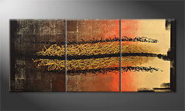 La nostra pittura 'Black Canyon' 180x80cm