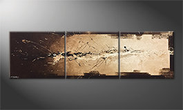 La nostra pittura 'Flowing Light' 210x60cm