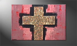 La nostra pittura 'Heavy Cross' 120x80cm