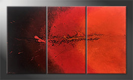 La nostra pittura 'Hot Splash' 150x85cm