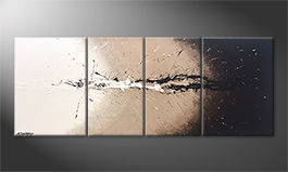 La nostra pittura 'Light Splash' 180x70cm