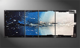 La nostra pittura 'Liquid Ice' 210x80cm