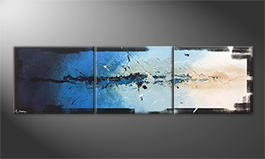 La nostra pittura 'Splashy Water' 210x60cm