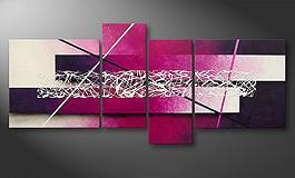 'Purple Lights' 130x65cm tela