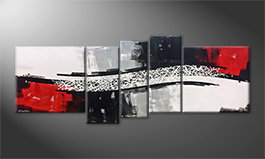 Quadro 'Clash Of Contrast' 205x80cm