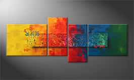 Quadro 'Colors Of Nature' 180x70cm
