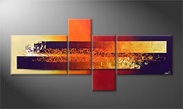 Quadro 'Endless Sundown' 200x90cm