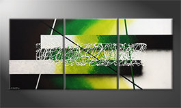 Quadro 'Green Connection' 180x80cm