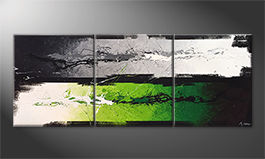Quadro 'Green Dimension' 180x70cm