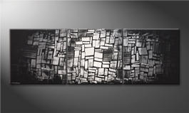 Quadro 'Light Mosaic' 240x80cm