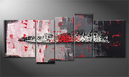 Quadro da soggiorno 'Resolution Of Contrast' 190x80cm