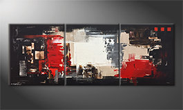 Quadro da soggiorno 'Rumble Of Light' 180x70cm