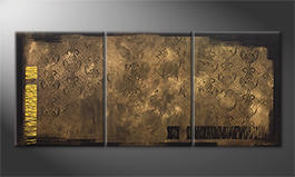 Quadro moderno 'Hidden Treasures' 180x80cm