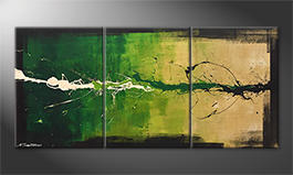 Quadro moderno 'Morning Freshness' 150x70cm