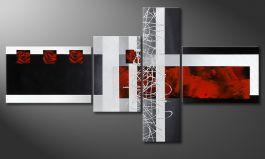 Quadri Moderni Per Ufficio : Quadri della serie asimmetria formati s