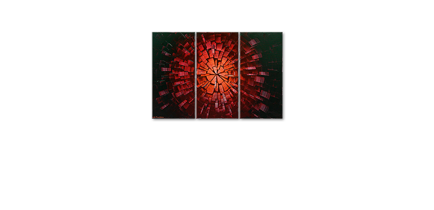 Center of Glow 120x80cm quadro