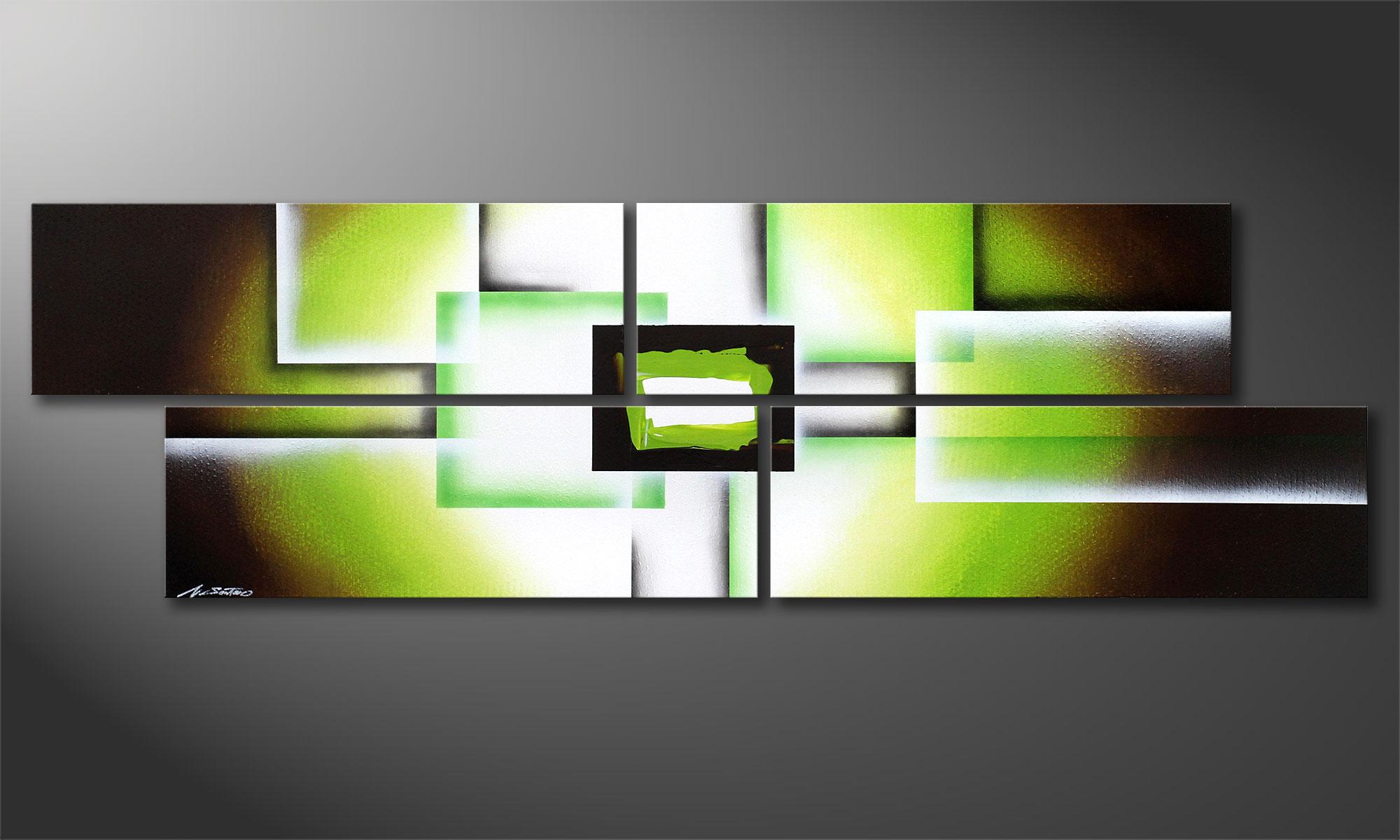 Stunning Wandbilder Wohnzimmer Grun Gallery - Home Design Ideas ... Wandbilder Wohnzimmer Grun