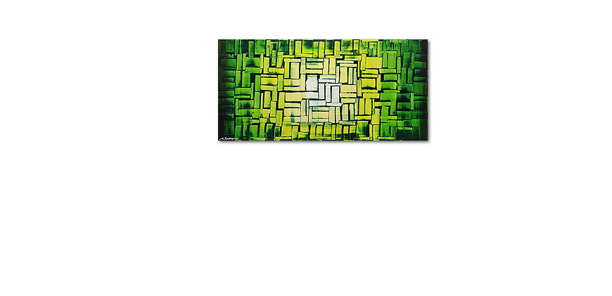 Jungle Light 120x60cm quadro