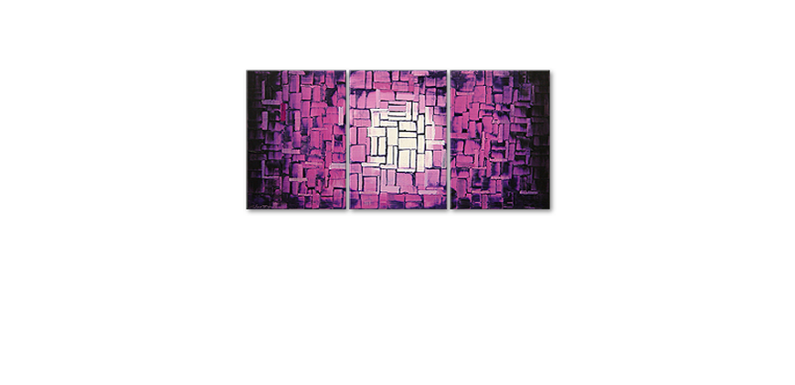 Purple Afterglow 150x70cm quadro