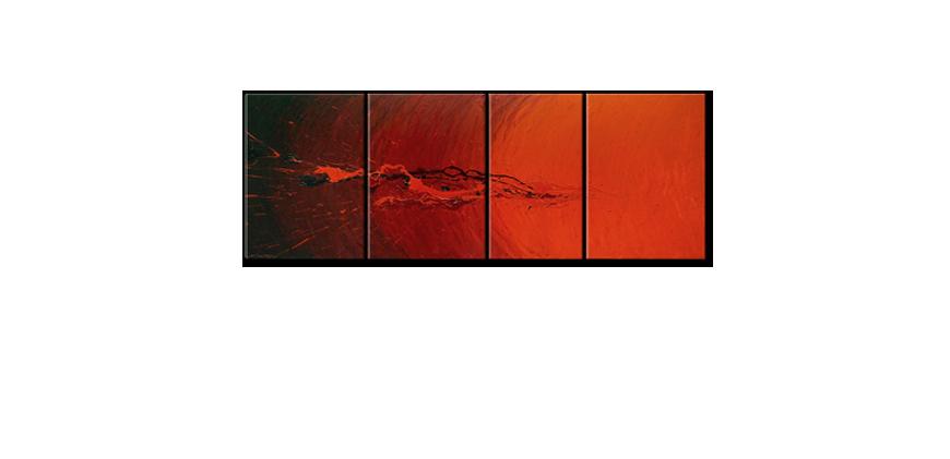 Splash of Glow 190x70cm quadro da soggiorno - Quadri XXL