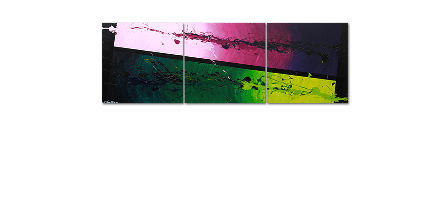 Tropic Splash 210x70cm quadro