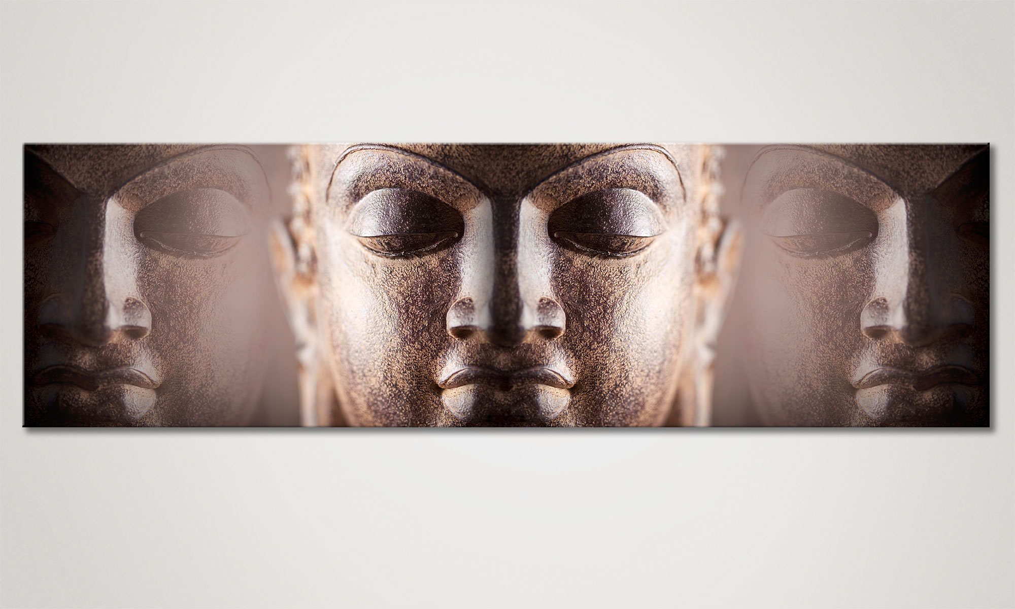 Silence 170x50cm Buddha tela - Quadri XXL