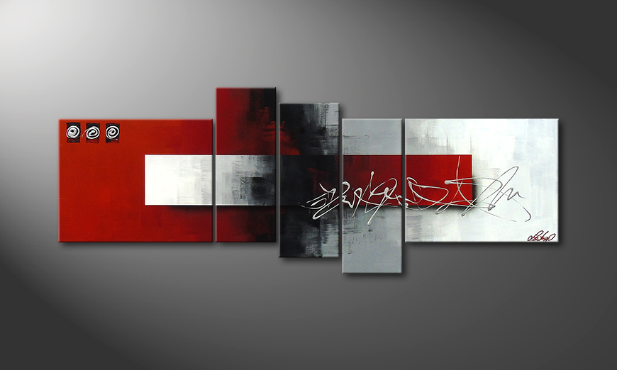 Clear Thought 160x60x2cm quadro moderno