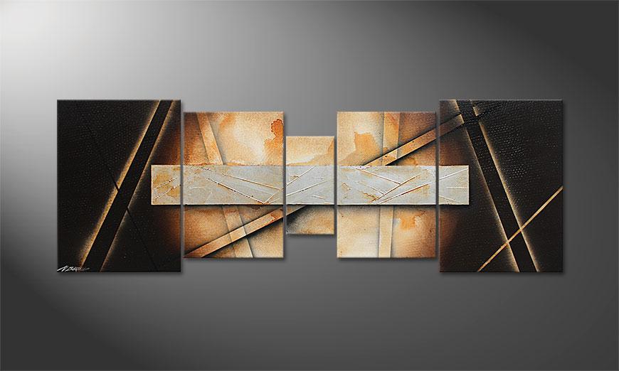 Desert Treasure 200x70x2cm quadro da soggiorno