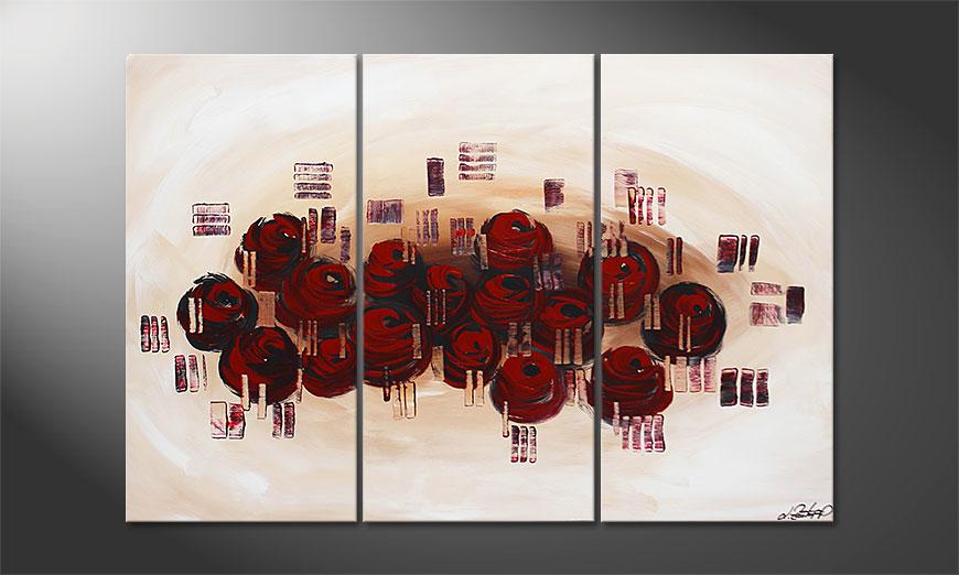 Dream of Roses 120x80x2cm quadro