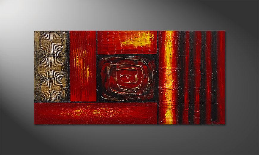 Emotional Moments 120x60x2cm quadro