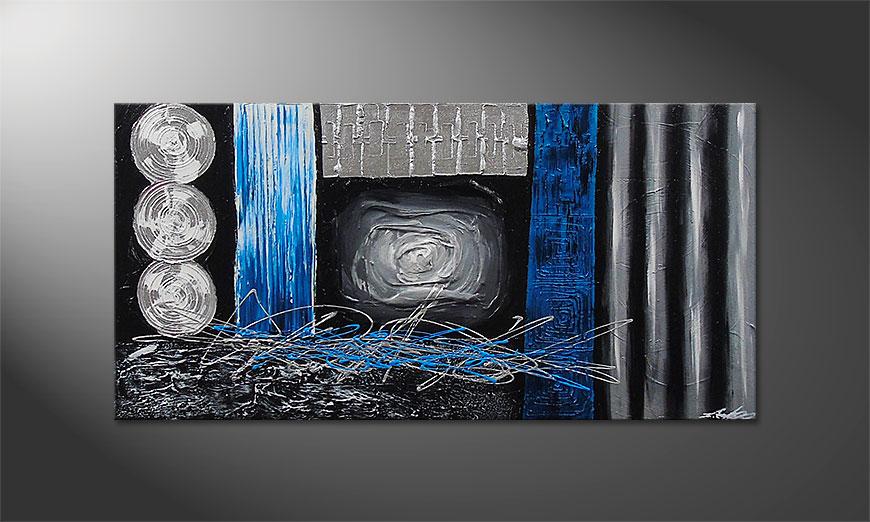 Frozen Signs 120x60x2cm quadro