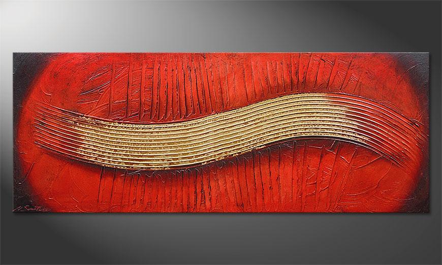 Golden Wing 150x60 quadro