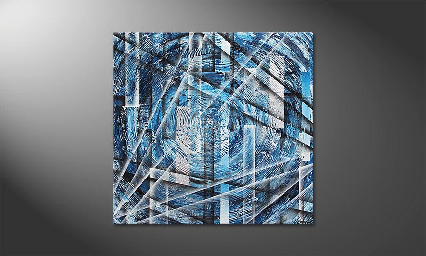 Inner Ice 100x100x2cm quadro