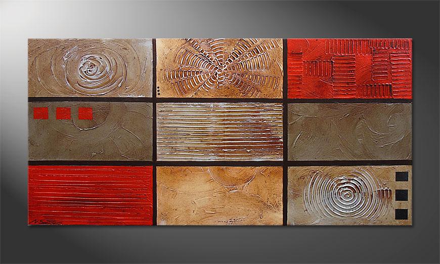 Kittenish Moments 140x70x2cm quadro