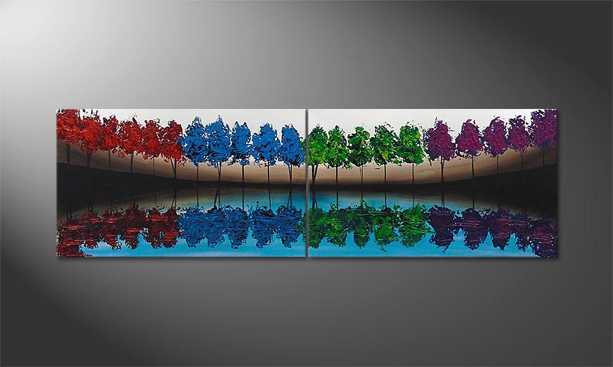 MiracleTrees 140x70x2cm tela