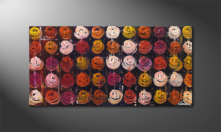 Roses for You 120x60x2cm quadro