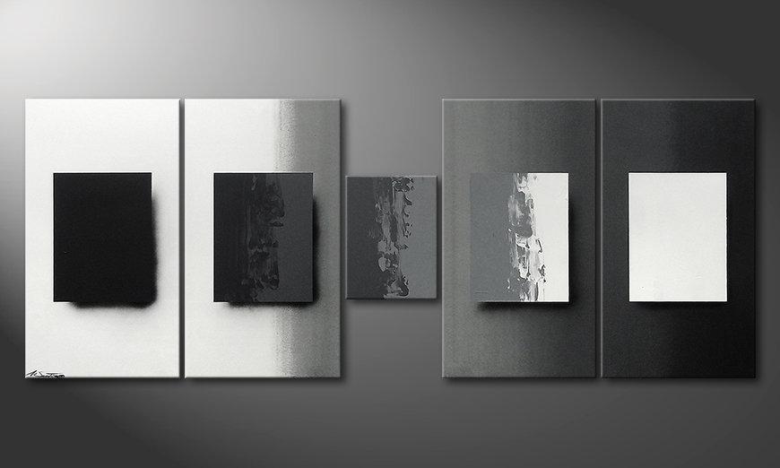 Shades of Grey 230x90x2cm quadro