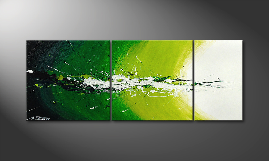 Spring Splash 130x50x2cm quadro