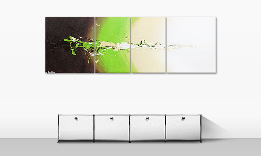 quadro XXL Fresh Splash 240x80cm