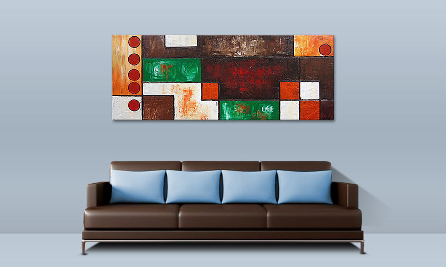Stand Out 150x60cm quadro
