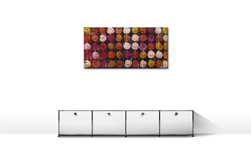 Roses for You 120x60cm quadro