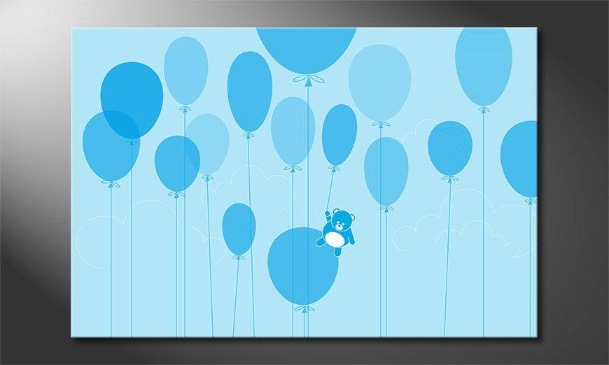 Balloons quadro