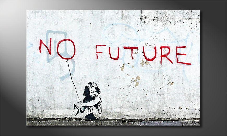 Banksy No10 tela