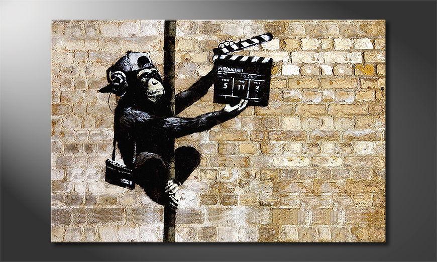 Banksy No13 tela